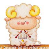 4コマ漫画・めーぶーの編み物